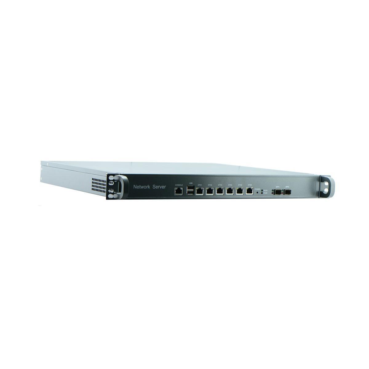 Intel Celeron C1037U 1U Rackmount Barebone for Network Security Application with 2