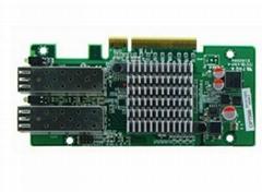 Intel 82599ES PCI-E x8 10G Optical Card 2*SFP+ Firewall Hardware Accessories