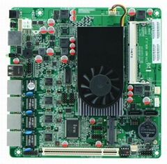 Cheap Intel D2550 Firewall Motherboard for Network Security Application 4Lan