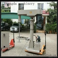 Hydraulic Lifing high speed paintDisperser  dispersion mixer