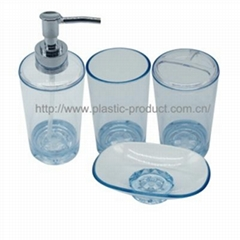 2015 new design plastic bathroom set for home use