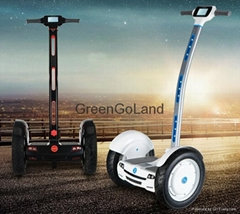 Newest self balance electric chariot with led screen display more smart escooter