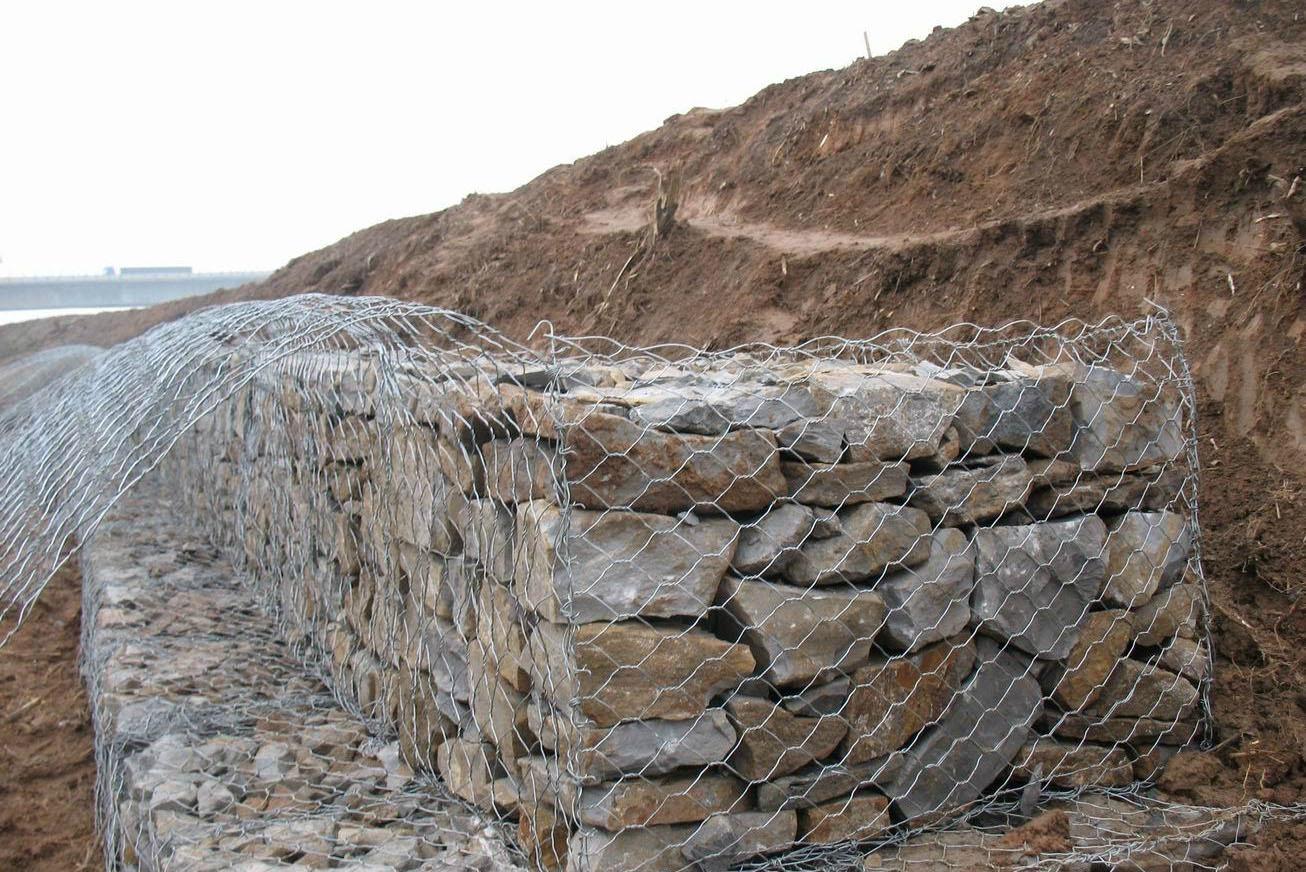 时泰石笼网厂厂家直销优质镀锌格宾网 5