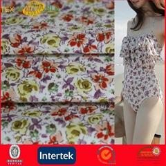 Beatuiful Soft Single Jersey Fabric for Swimwear (WPE1121)