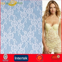 Beautiful Flower Mesh Jacquard Fabric for Lingerie (JNE31166)