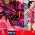 Elastic Knitted Printed Fabrc for