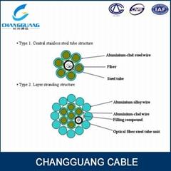 OPGW-Optical Fiber Compo