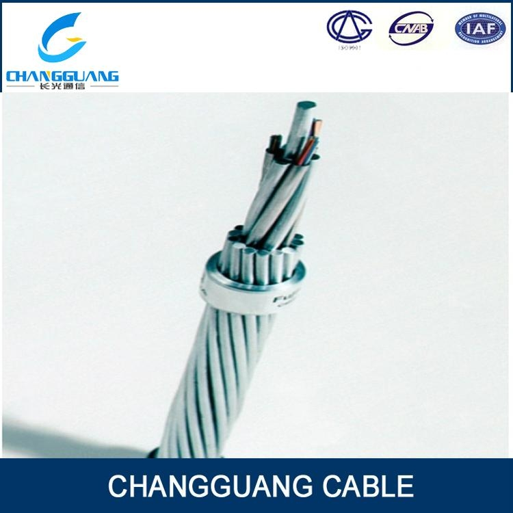 OPGW-Optical Fiber Composite Overhead Ground Wire Fiber Optic Cable 5