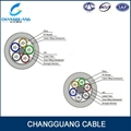 GYTA 12 core single mode fiber optic cable