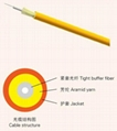 Indoor Zip-cord Interconnect Fiber Optic Cable