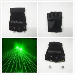 Hanfeng hot sale Chiristmas green red Stage Laser Show LED Laser Gloves
