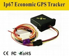 Hidden Bicycle GPS Tracker Waterproof GPS Tracking Device with Microphone TS-10