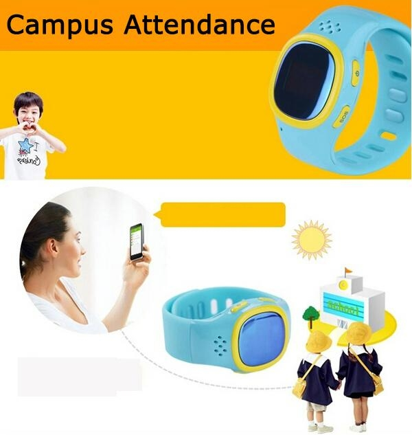 Two Way Communication Child GPS Tracker Watch for Kids with SOS Button 520 5