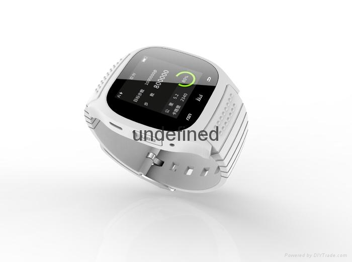 "New 1.4"" Touch Screen Bluetooth Sport M26 Smart Watch For Android Smartphone 1"