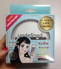 New  led ring selfie light Camera  flash light for Smartphones