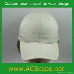 baseball cap customized as your design