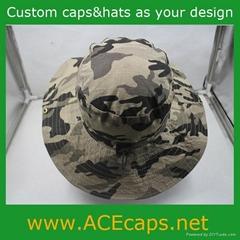 cotton camouflage bucket hat,jungle hat