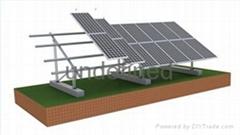 Ground solar mount solution