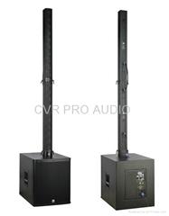 line array colum system disco night club conference sound system