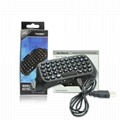 Mini Portable Wireless Bluetooth Keyboard for PS4 Playstation 4 Controller with  1