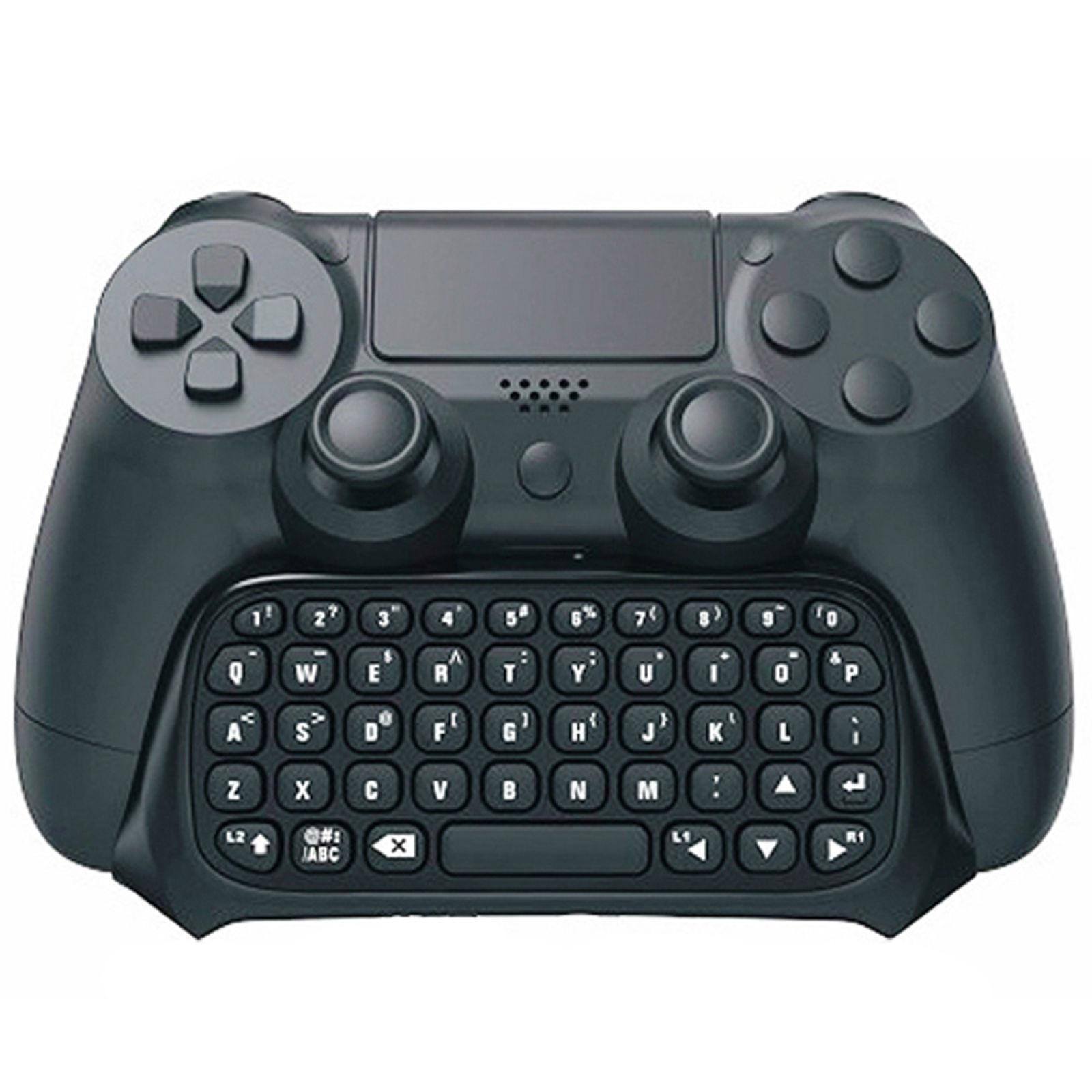Mini Portable Wireless Bluetooth Keyboard for PS4 Playstation 4 Controller with  5
