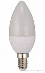 Candle Light E14 /E27 430LM  85-265V CE