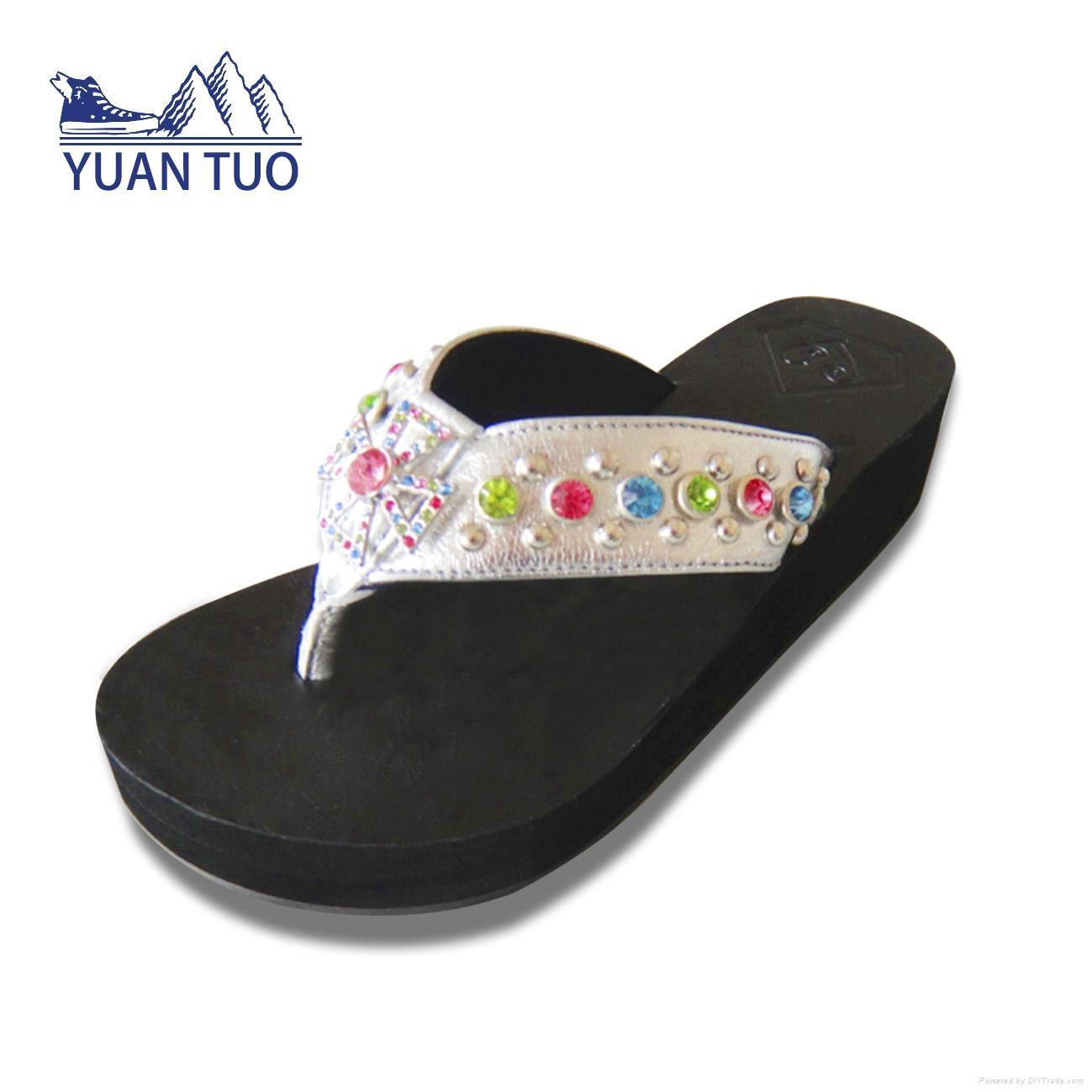 fashion comfortable EVA lady slippers 5