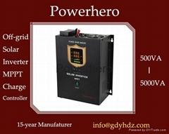 Hybrid Solar inverter UPS with Built in MPPT Solar Controller AVR function