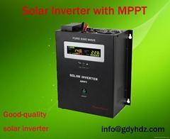 MPPT  Hybrid Solar  Power Inverter With AVR funtion