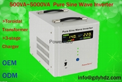 pure sinewave inverter with UPS with low harmonic distortion FACTORY SUPPLIER