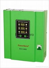 80A 12v 24v 48v auto-adaptive Intelligent MPPT Solar Controller