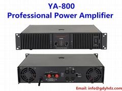 800W 2 channels professional power amplifier audio amplifier