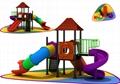小博士组合塑料儿童滑梯 5