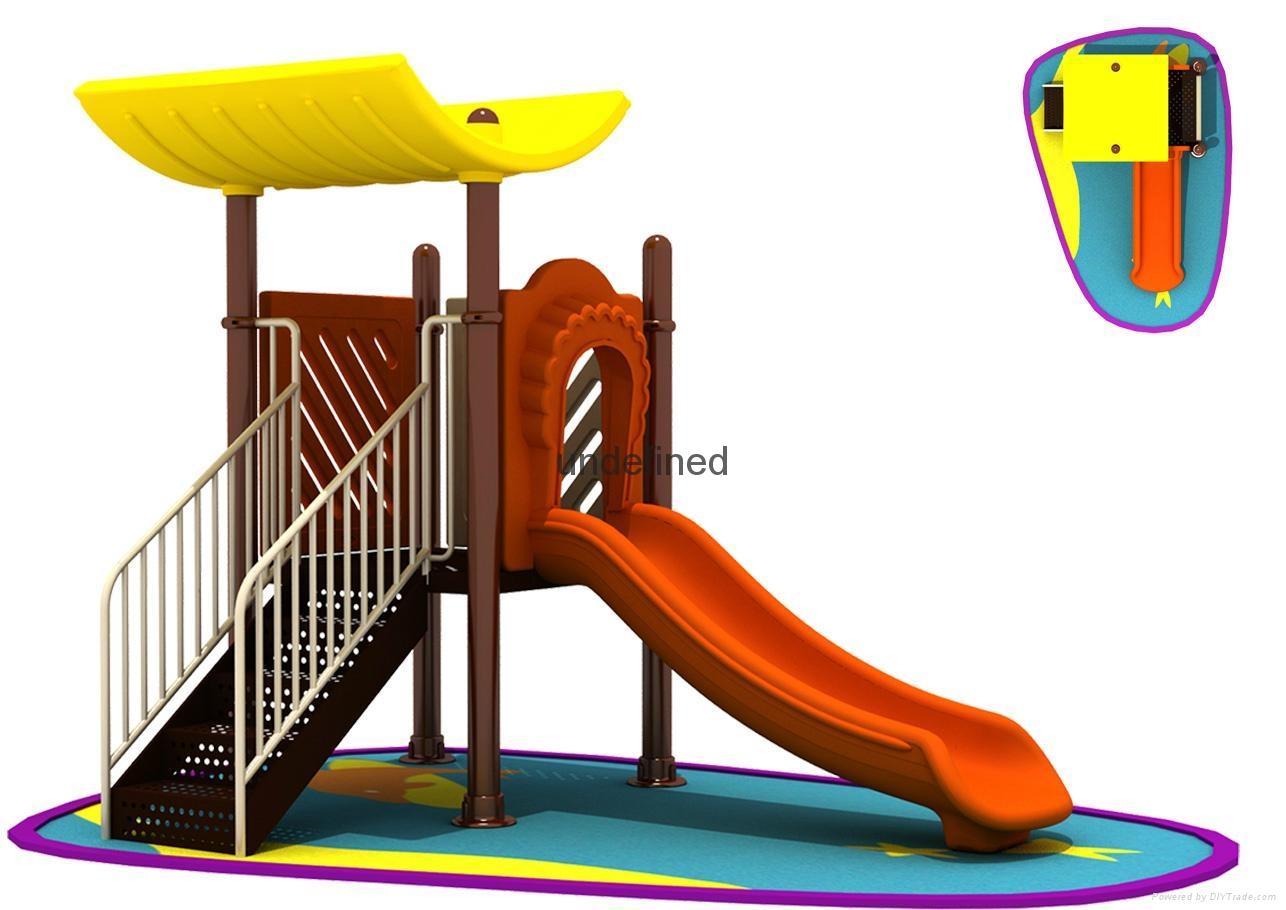 优质厂家销售安全小区儿童滑梯 1
