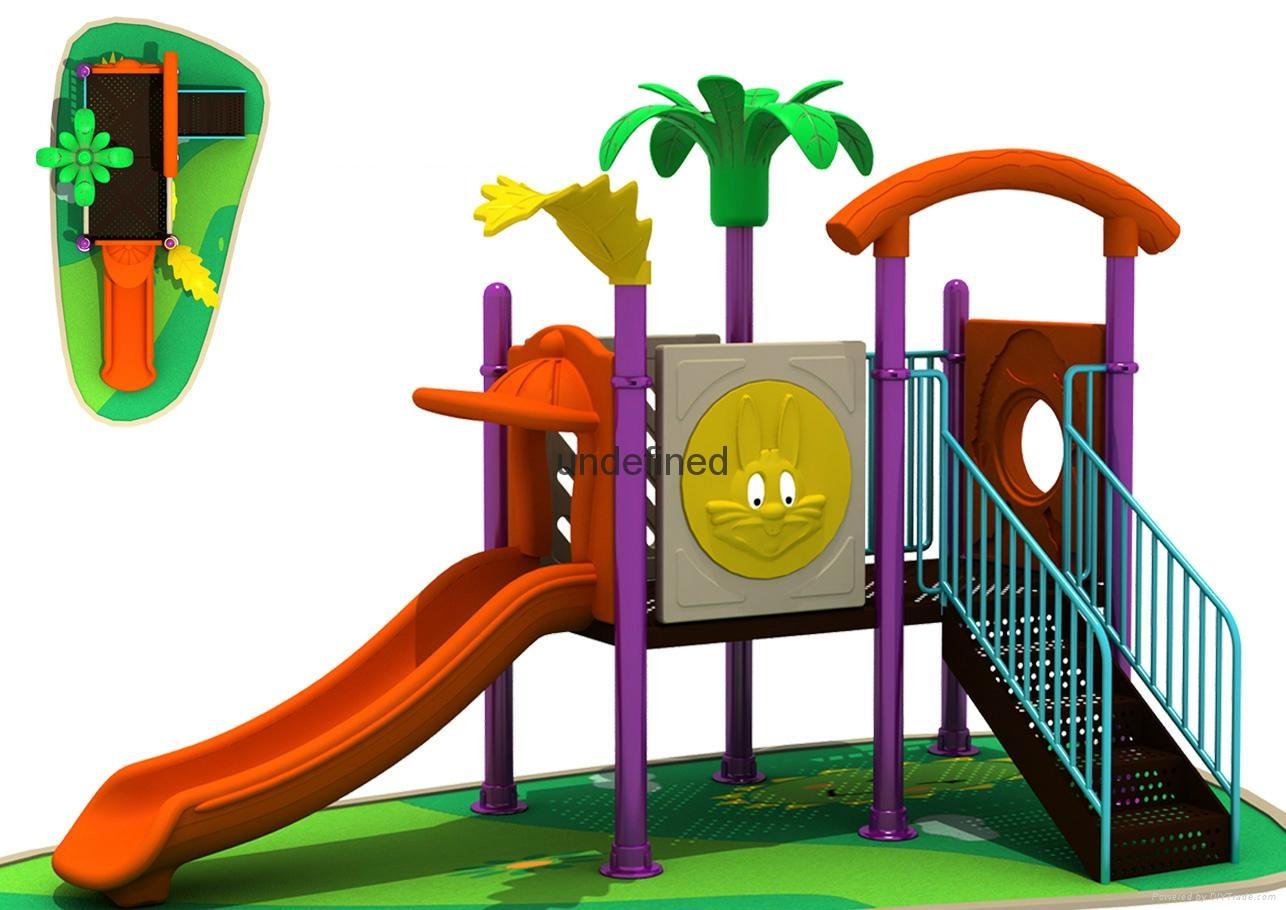 优质厂家销售安全小区儿童滑梯 3