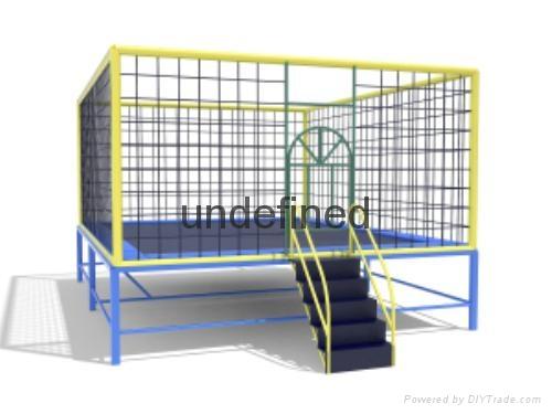 厂家直销大型游乐设备弹跳床 2