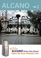 Alcano swing gate opener manufacturer 1