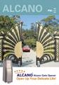 Alcano swing gate opener manufacturer 5