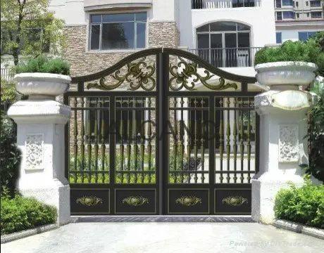 Alcano villa swing gate opener manufacturer 3