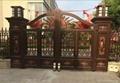 Alcano villa swing gate opener