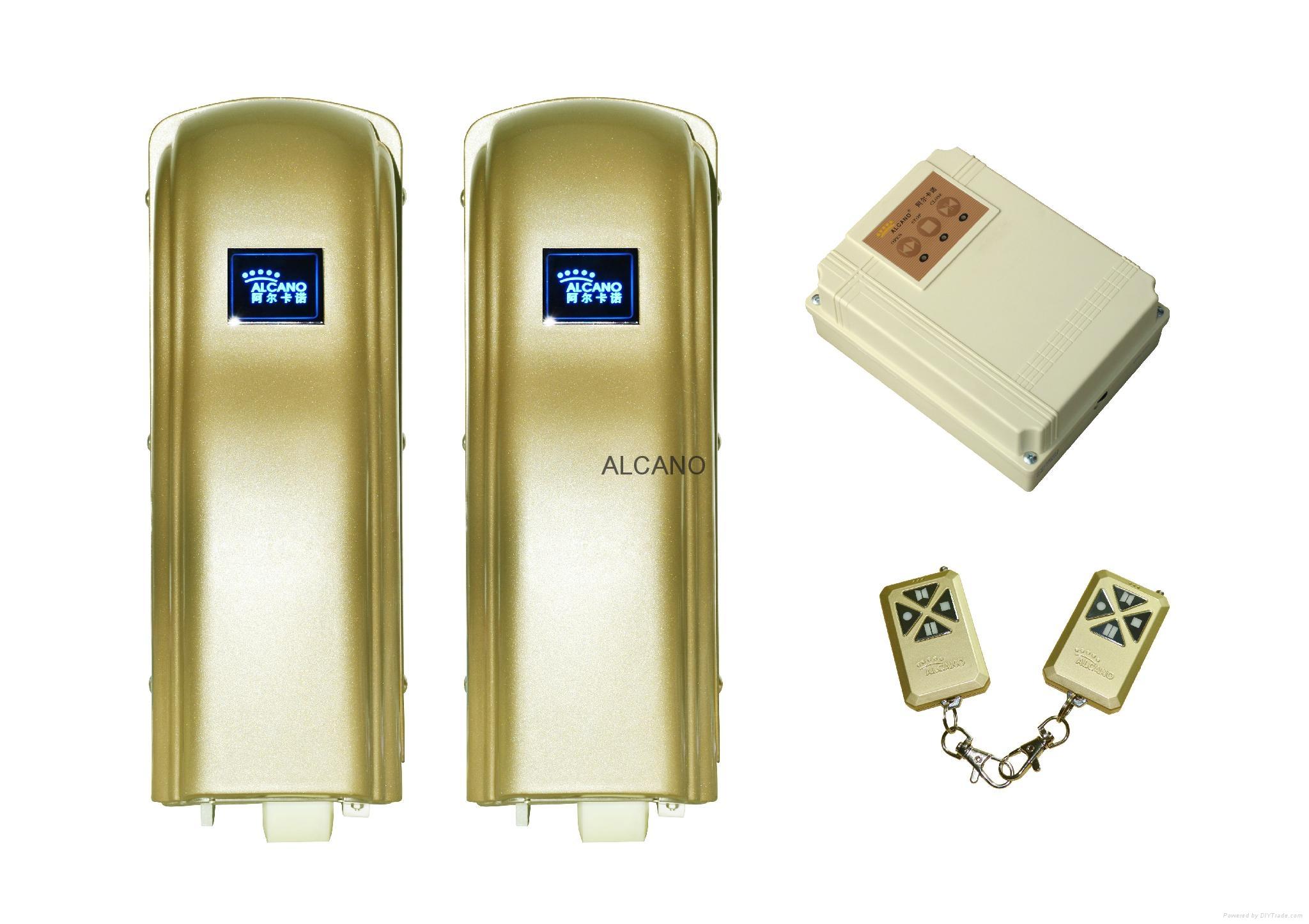 ALCANO popular wheel type swing gate opener manufacturer 1