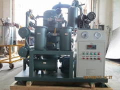 Double-Stage Highly Effective Vacuum Transformer Oil Purifier