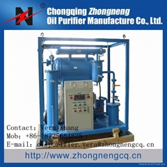 Series ZY High Effective Vacuum Insulating Oil Purifier