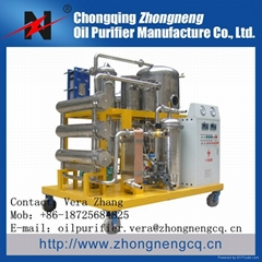 Series TYA-I high Quality Fire-Resistant Oil Purifier Oil Regeneration Treatment