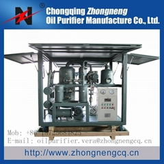 ZYD-I series Double-Stage Highly Effective Vacuum Transformer Oil Purifier