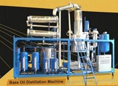 Multi-function Base Oil Distillstion BOD series black dirty engine oil purifier