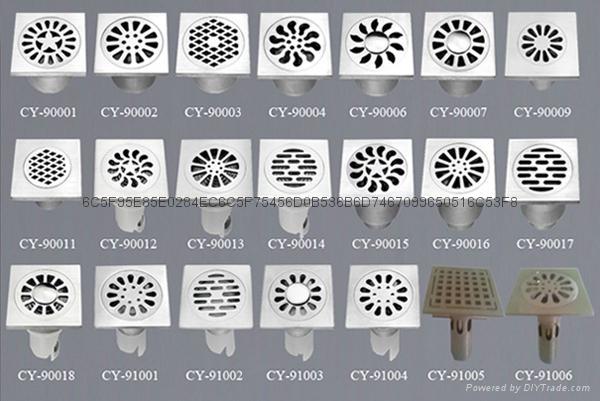 Precision casting floor drain 3