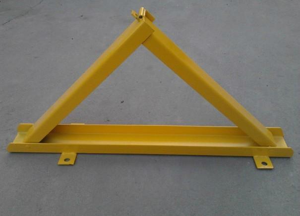 供應三角型防壓車位鎖地鎖 4