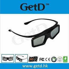 cheap active shutter 3d glasses for cinema use