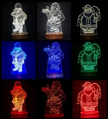 3D Fashion Childrens Night Lights with your own design